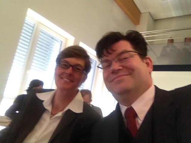 Viktoria Marold und Matthias Henneberger - Ice ödp Kreisräte 2014-2020