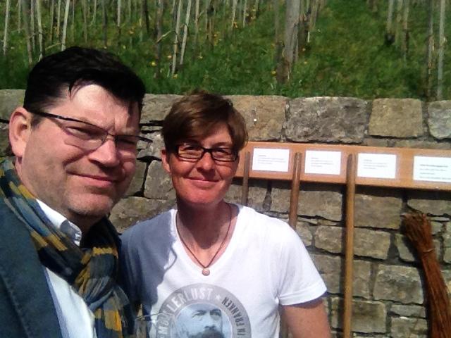 Die ödp im Kreistag: Matthias Henneberger und Viktoria Marold